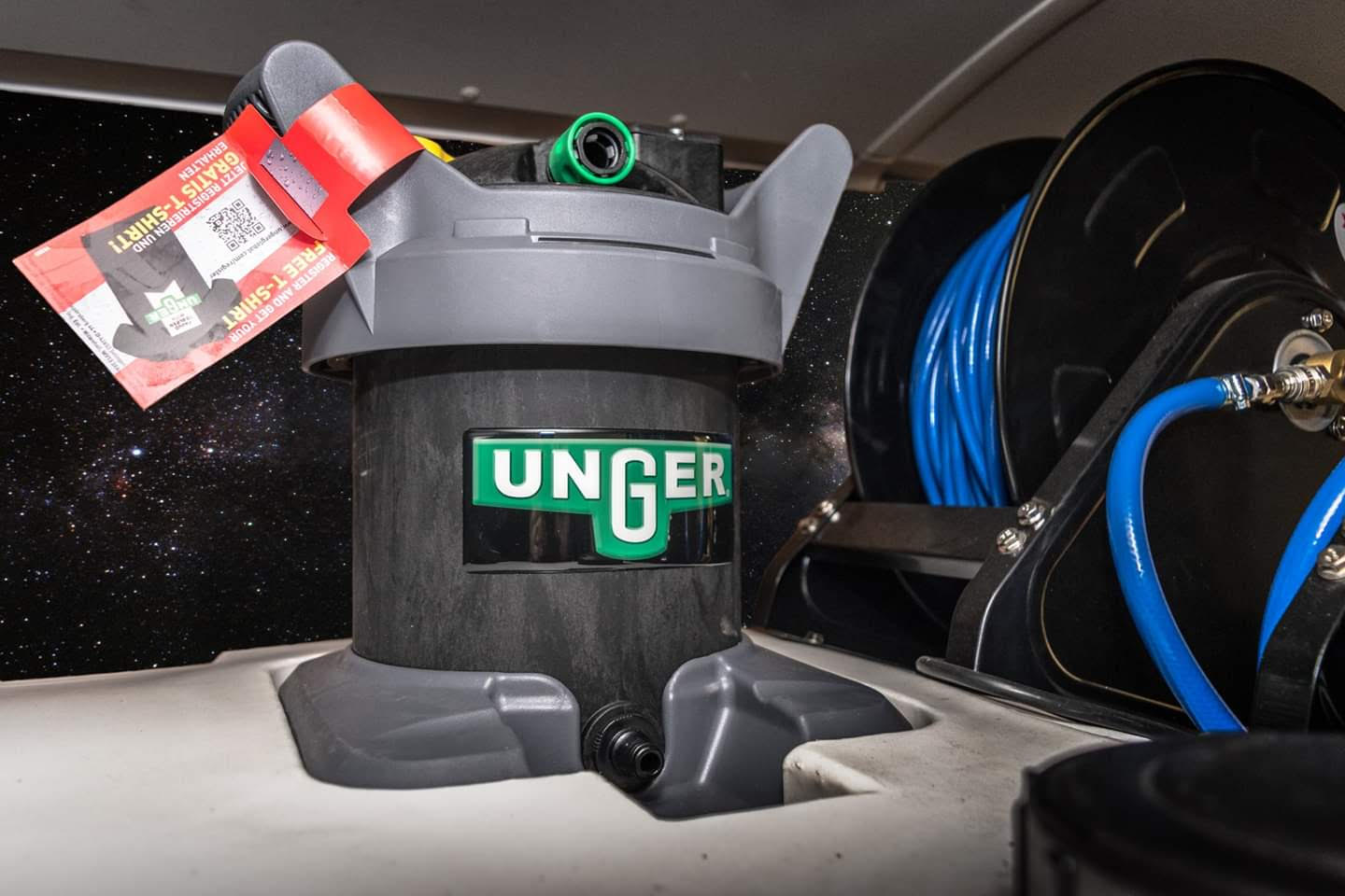 Unger WFP equipment pole system - Waterworks Window Cleaning